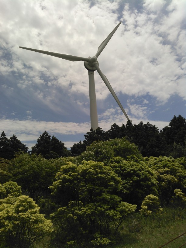 青山高原のシンボル