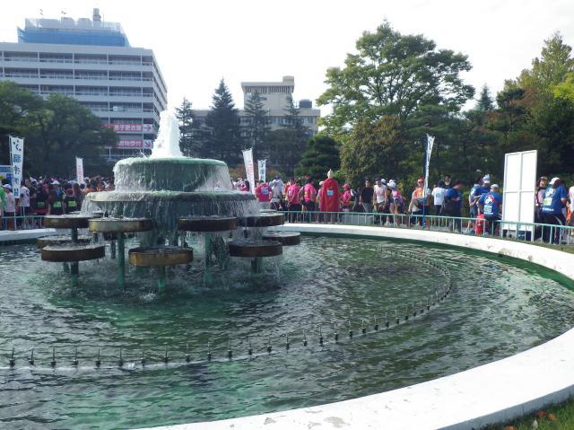 福井大学時代思い出の噴水