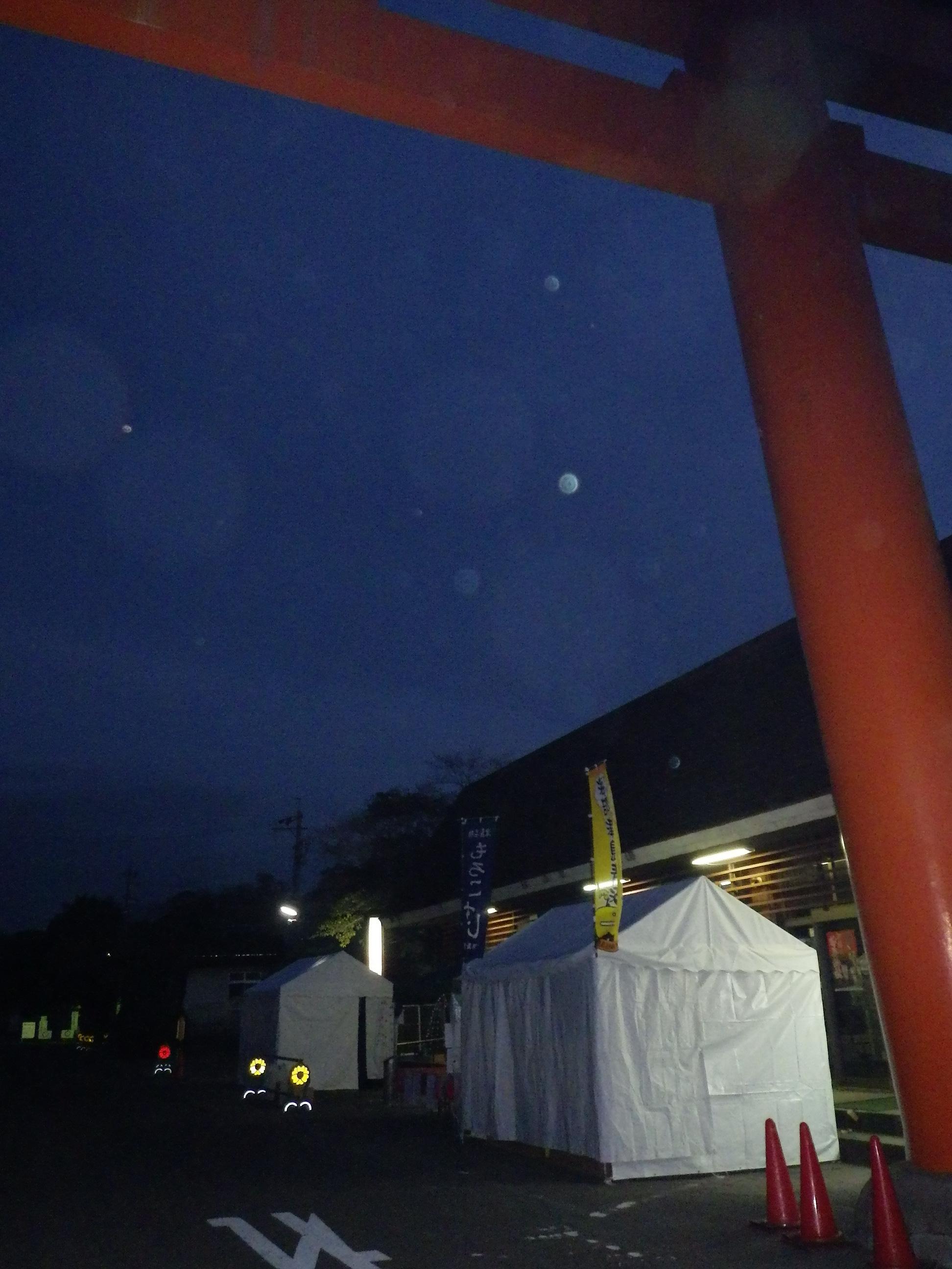 夜明け前の津島神社