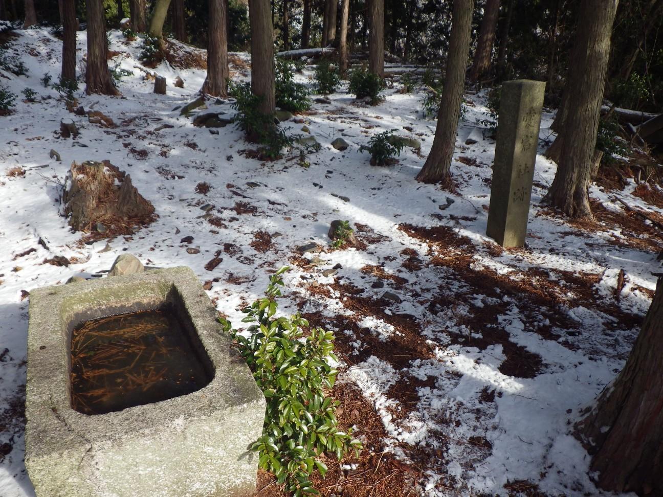 旧愛宕神社跡にも寄り道