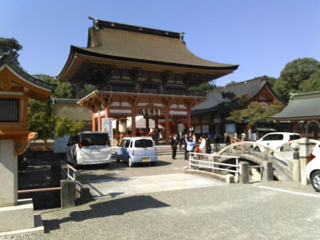 津島神社にヘロヘロで到着